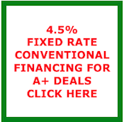 Low Fixed Rate Financing